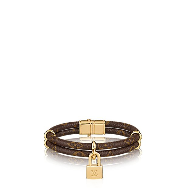 louis-vuitton-keep-it-twice-monogram-bracelet-leather-bracelets--M6640E_PM2_Front view