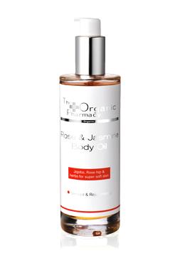 rose & jasmine body oil theorganicpharmacy.com
