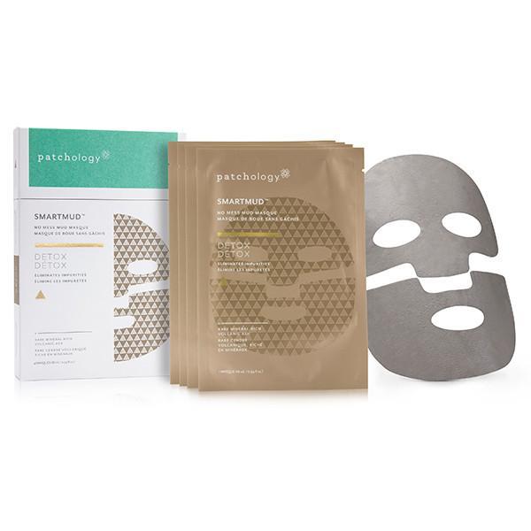 total toxin eliminator patchology smart mud masks
